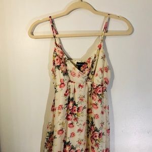 Wet Seal | Floral Spaghetti Strap Dress | Size S